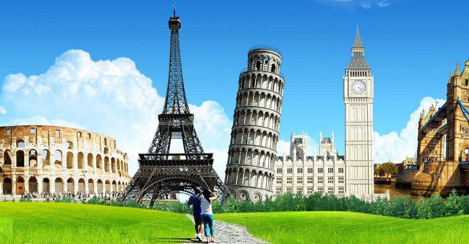 Du lịch châu Âu khám phá kỳ quan thế giới